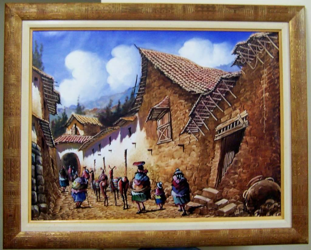 Enmarcado de oleo karin behocaray - Enmarcado de cuadros ...