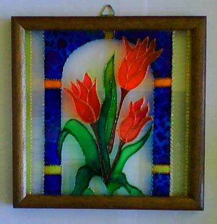 Vitral lidice gonz lez for Pintura para hacer espejos