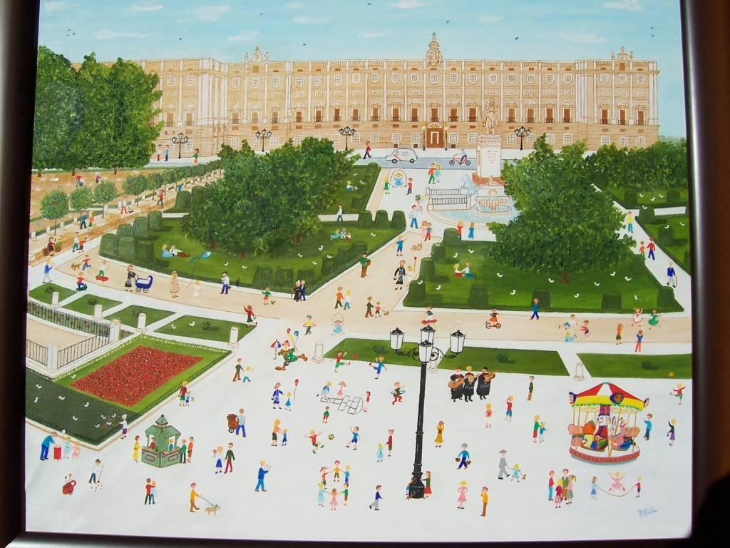 Jardines de la plaza de oriente tessa domene moris for Jardines de plaza