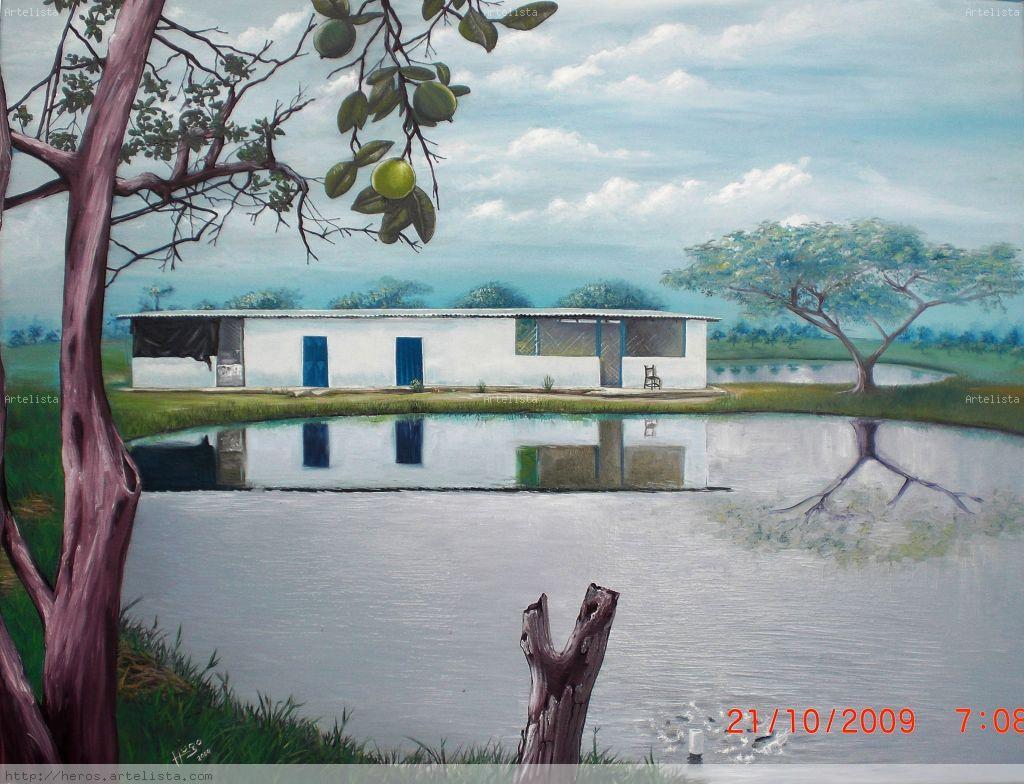 Laguna cachamas hugo eredy rojas for Lagunas para cachamas