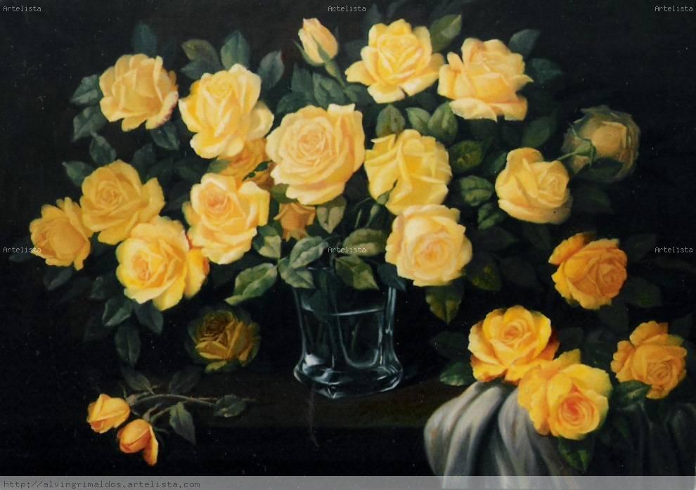 Rosas Amarillas Alvin Oswaldo Grimaldos Rodríguez Artelistacom