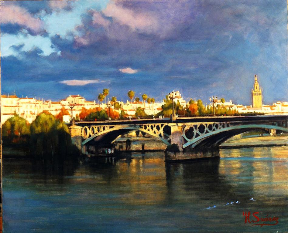 Sevilla desde triana jose luis suarez for Todo pintura sevilla