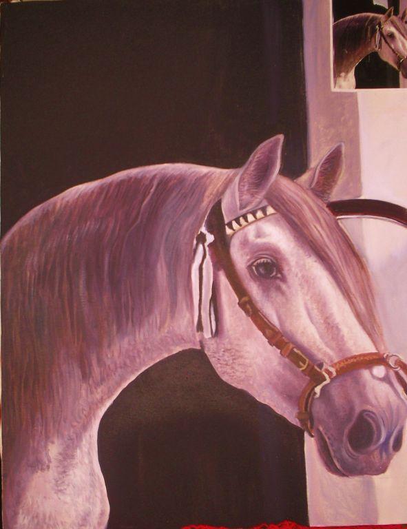 cara de caballo julio gamez - Artelista.com