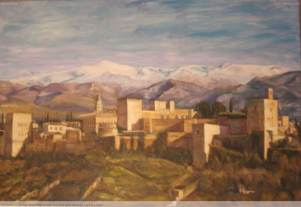 alhambra de granada jos peregrina hidalgo On granada pintura