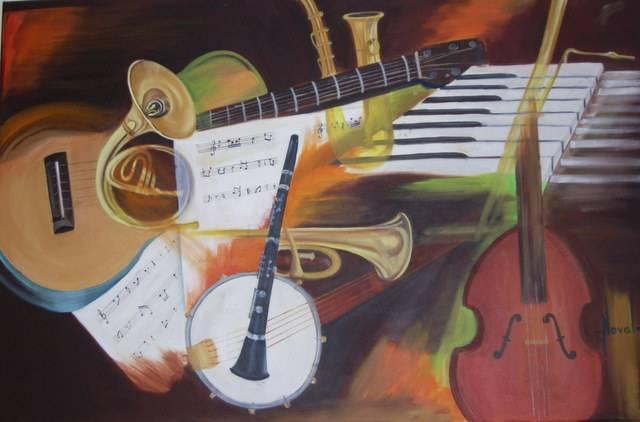 INSTRUMENTOS MUSICALES Rosa Maria NOVAL - Artelista.com