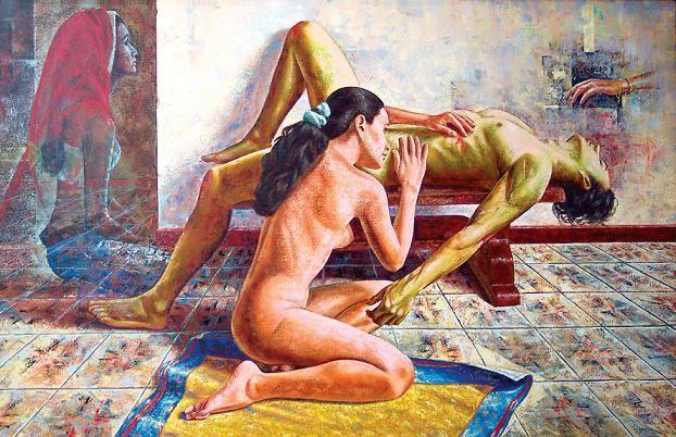 Tonya el duelo desnudo