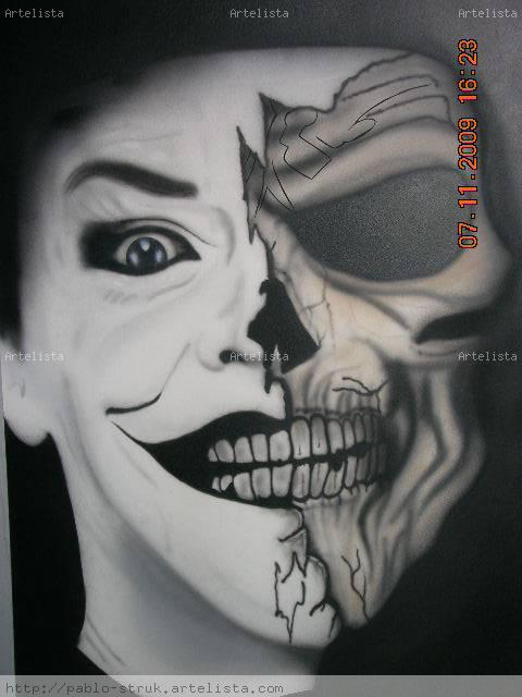 Skull Guason Pablo Struk Artelistacom