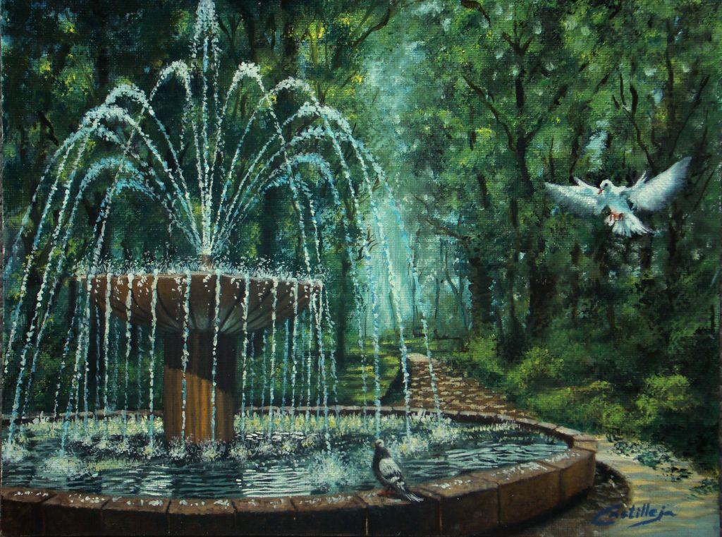 La fuente agua de vida y camino hacia la luz sergio for Fuentes de agua