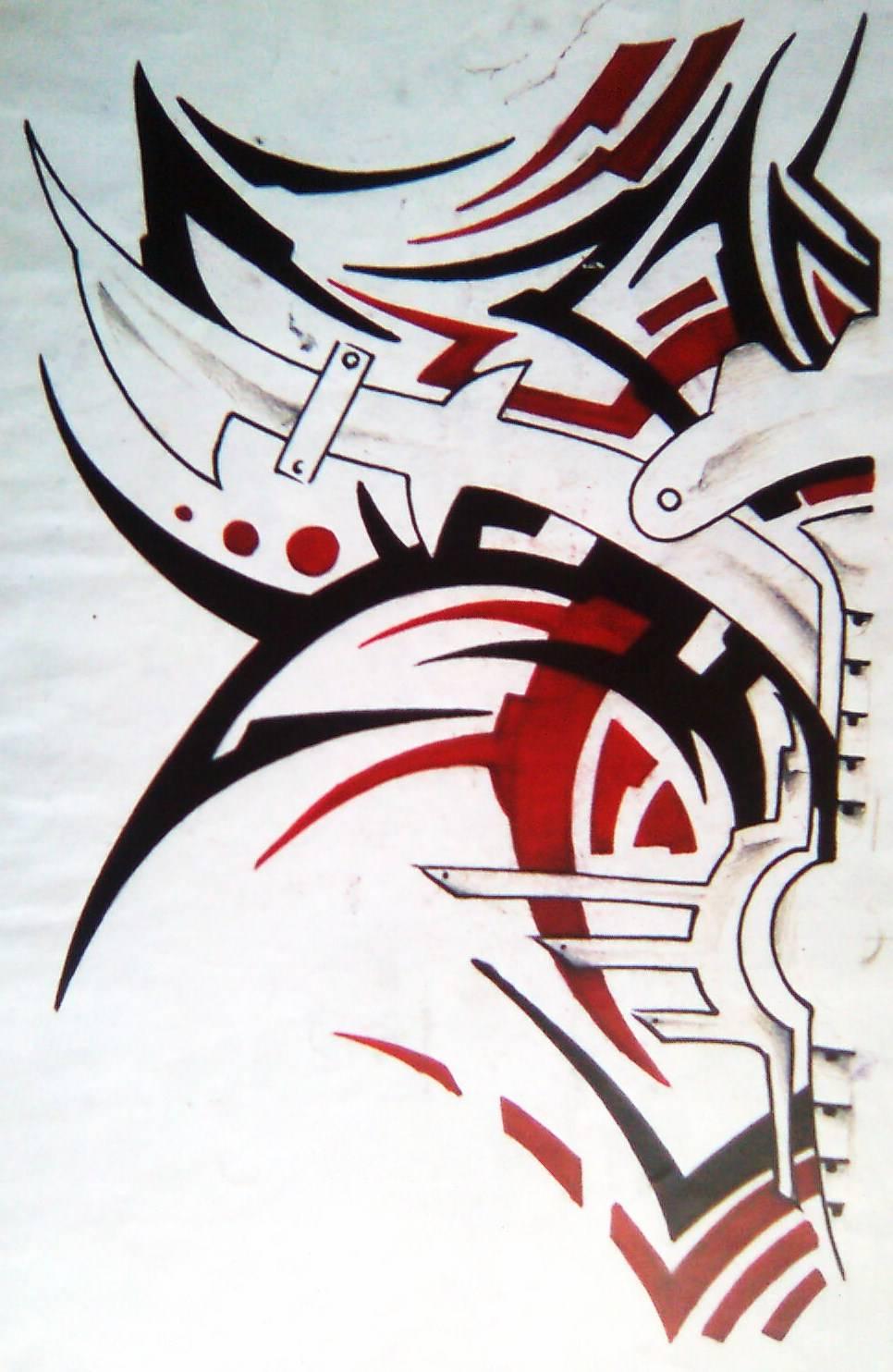 Tribal A Tres Colores Manuel Morales Sanchez Artelistacom