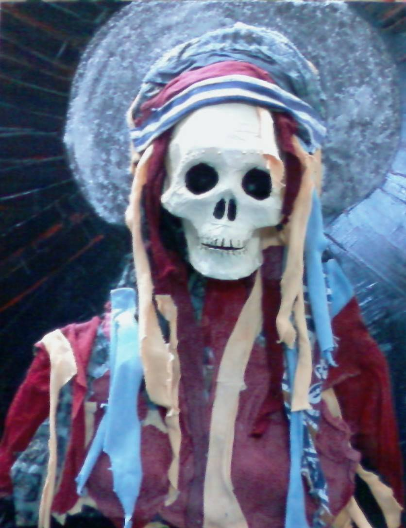 la santa muerte Mixed media Canvas Others & la santa muerte Enrique Guerrero - Artelista.com