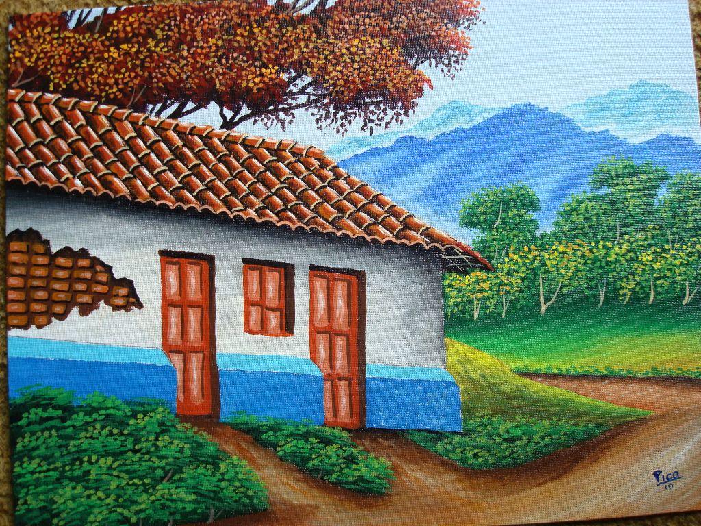 Casas viejas de costa rica by pico edgar pico pikin - Casas viejas al oleo ...