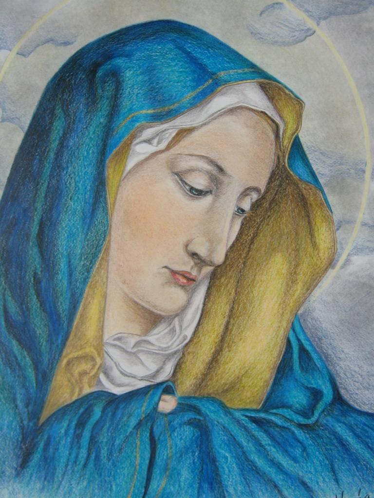 Virgen Del Dedo ó Virgen Dolorosa C María Leonor Méndez Morales