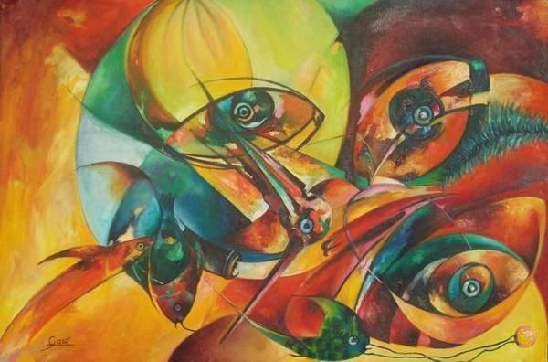 Alberto Garo - pintor dominicano