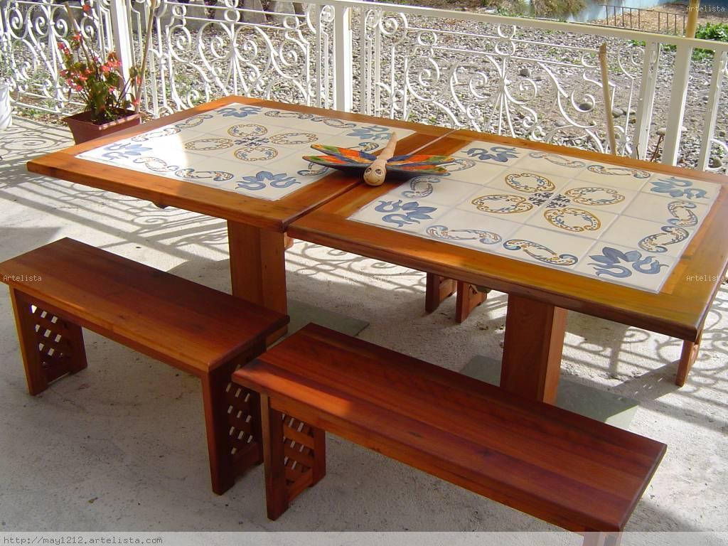 Mesas de terraza maria teresa marambio aballay for Mesas de terraza plegables