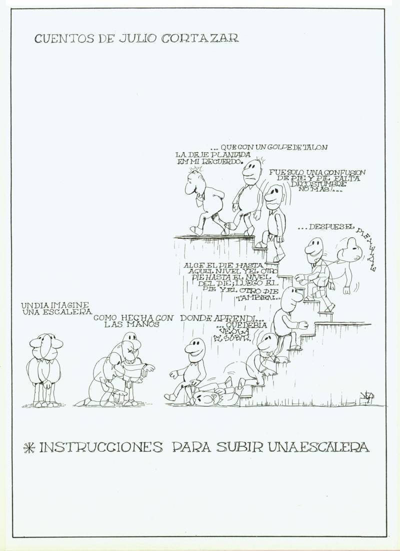 Instrucciones Para Subir Una Escalera Hernan Atuel Martinez Artelista Com