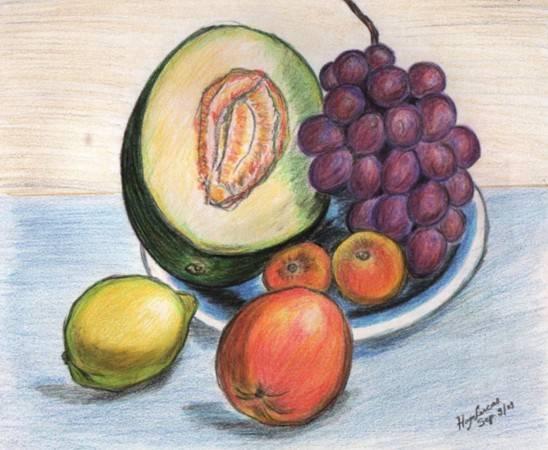 Bodegon de frutas Hugo Lucas- Artelista.