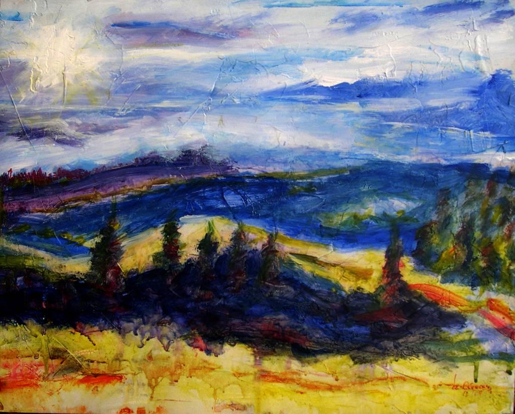 Azul de tierra y cielo pacodec ceres francisco gonz lez de - Pintores en caceres ...