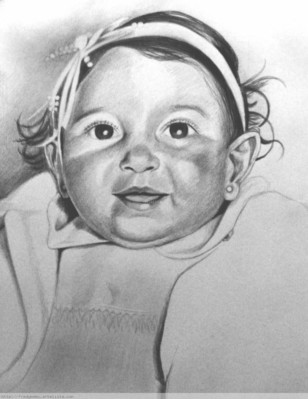 Retrato de Bebé Fredy Wilson Melo Bustos - Artelista.