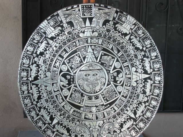 Calendario Azteca Ana Florian Artelistacom