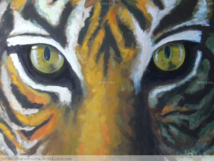 Tigre Marco Rocha - Artelista.com
