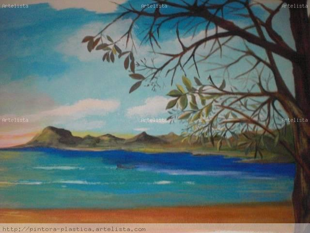 Paisajes para pintar acrilico imagui - Pintar mural en pared ...