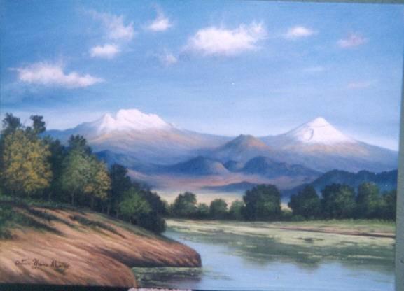 El pintor de los volcanes