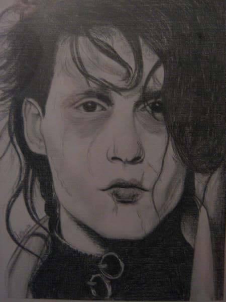 El joven manos de tijera Leticia Mosteirin - Artelista.com