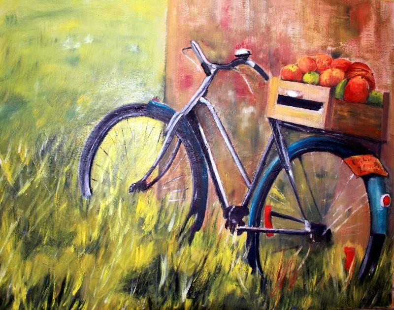 bicicleta amb fruits montse par s