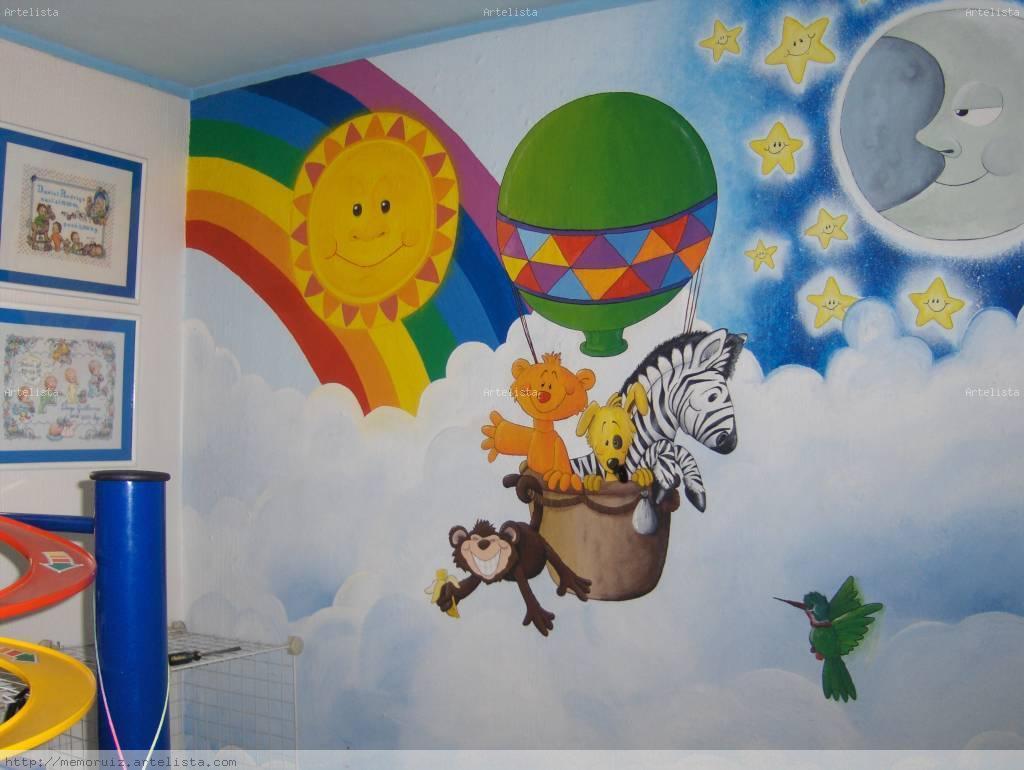 Mural infantil guillermo ruiz contreras - Pinturas habitaciones infantiles ...