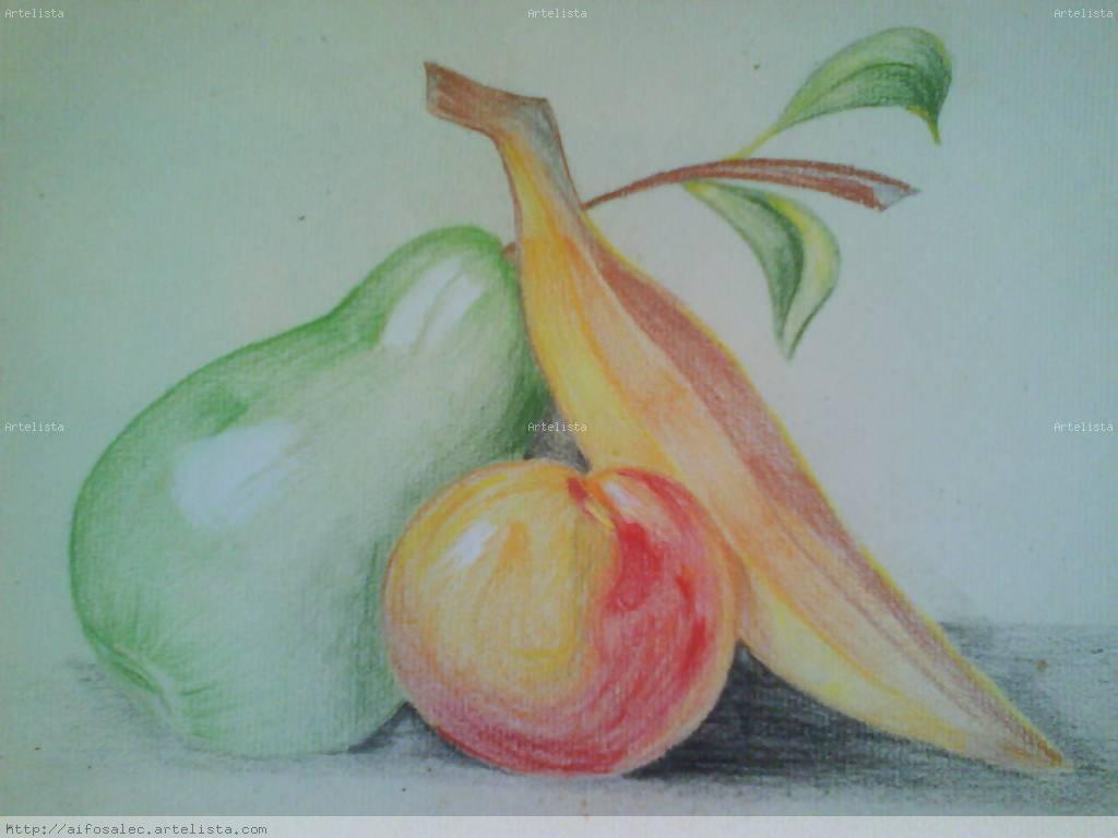 Frutas A Color Sofia Cela Echebarria Artelista Com