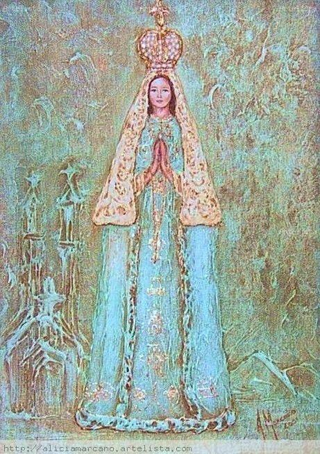 La virgen del valle dibujo - Imagui