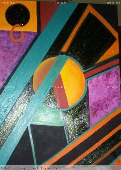 Figuras geometricas v olga del carmen agote for Cuadros con formas geometricas