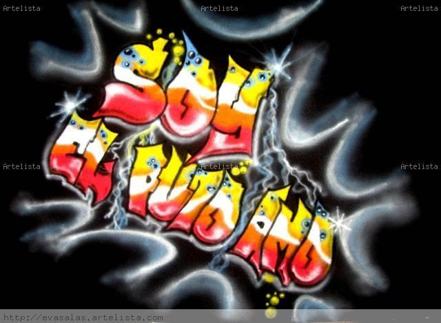 Como Hacer Nombres de Graffitis | Letras de Graffitis