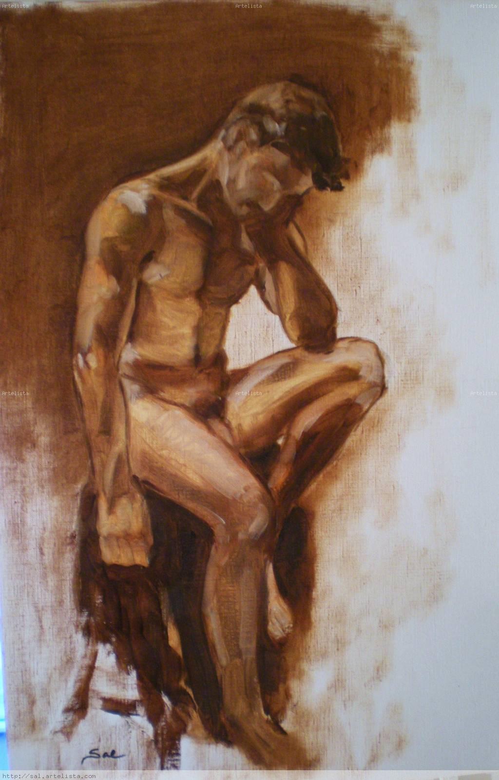 Cuadros desnudos de las abuelas jamaicanas