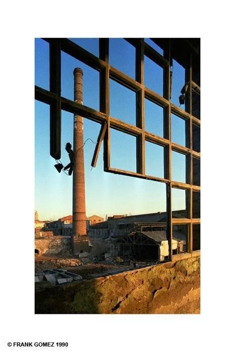 Derribo de la f brica tarrasa industrial frank gomez - D fabrica interiorismo ...