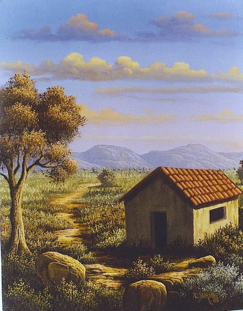 Casa de campo rauluribe07 for Pinturas para casas de campo