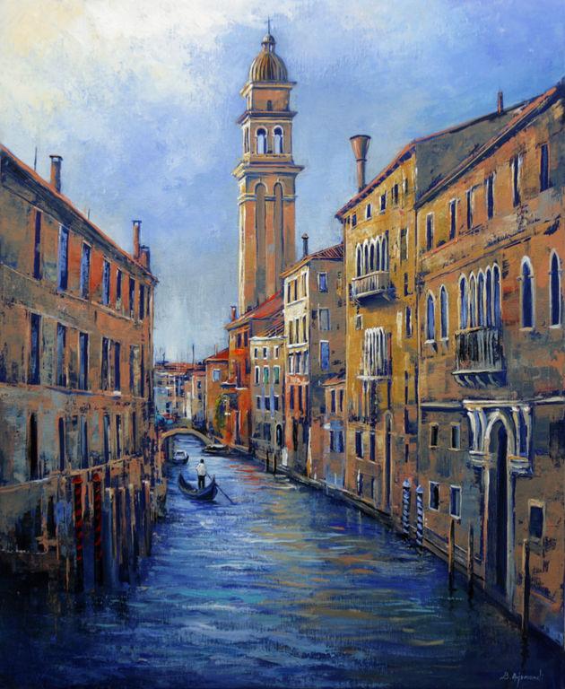 In Venice Paisaje Lienzo Óleo