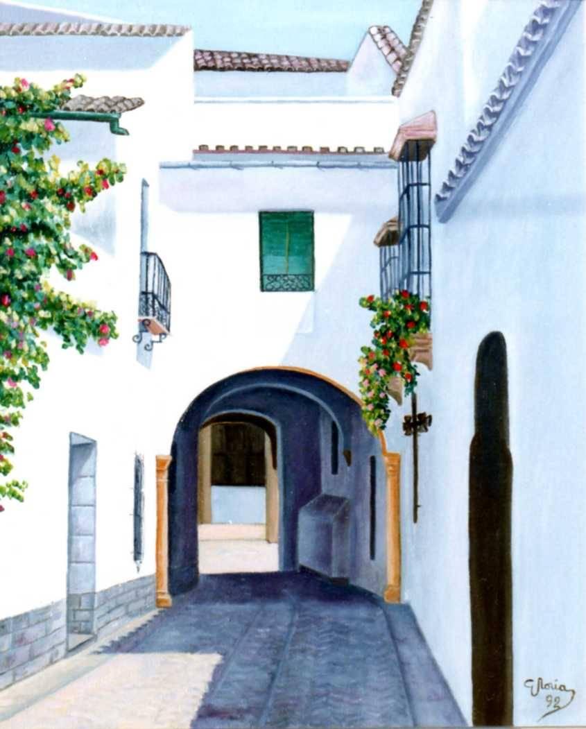 Calle de utrera sevilla gloria garcia nu ez for Todo pintura sevilla