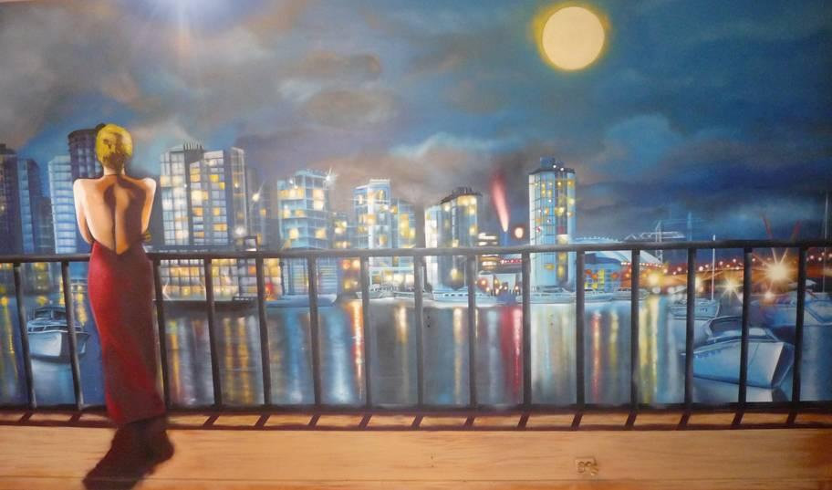 Decoraci n profesional de murales decorativos en interior for Murales decorativos paisajes