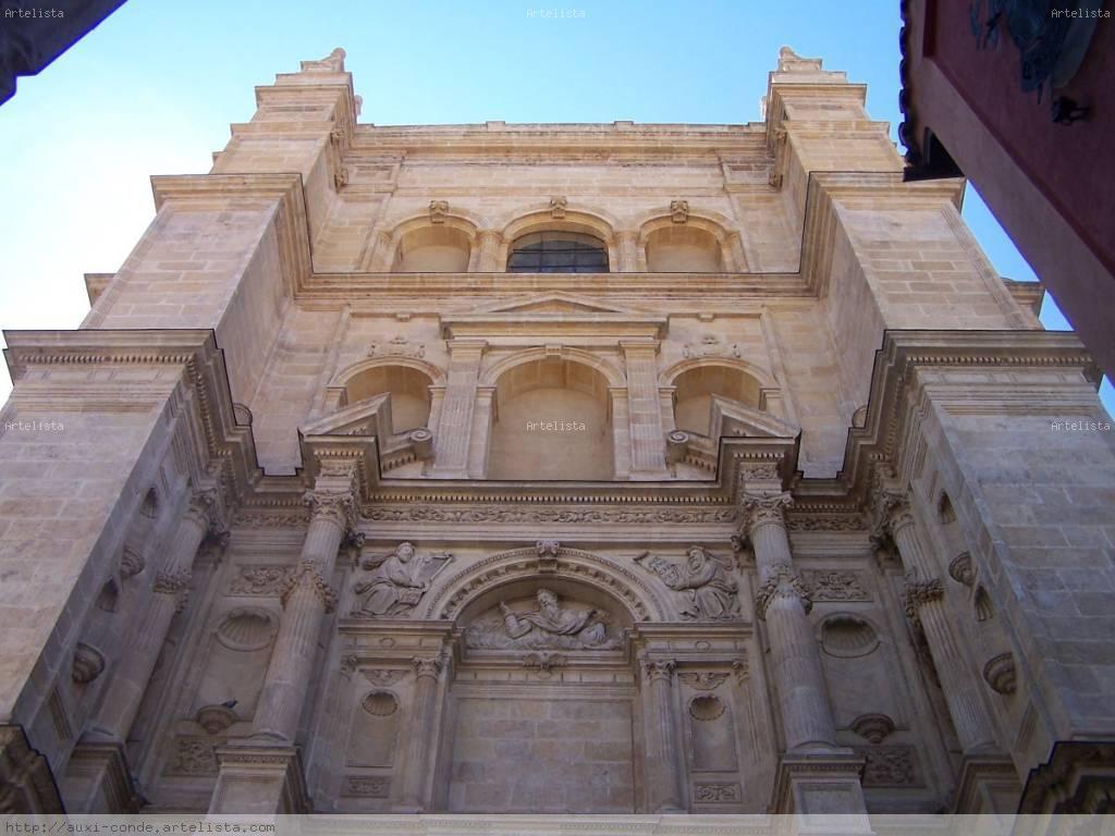 Perspectiva exterior de la catedral de granada auxi conde - Interiorismo granada ...