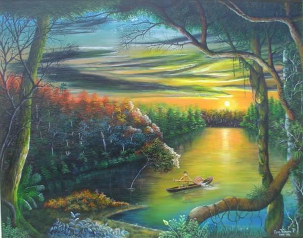 Paisajes de la Selva Cesar Tolentino - Artelista.com