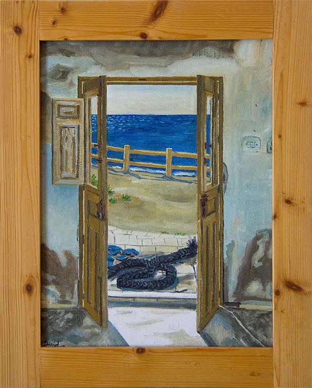 Una puerta con vistas al mar daniel formigo - Compro puertas antiguas ...