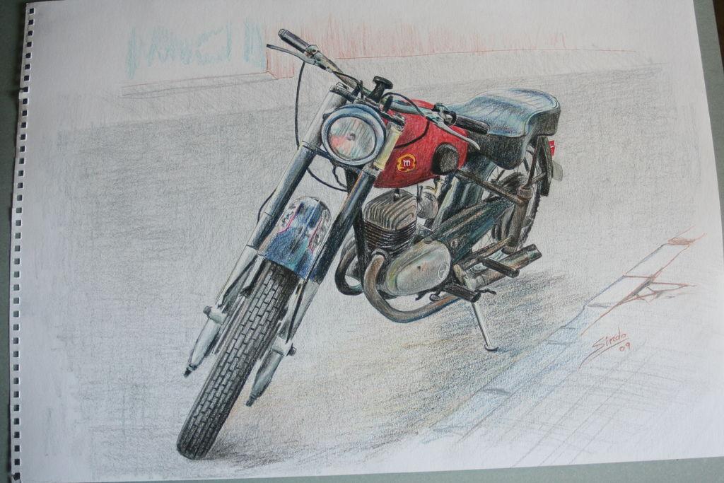 La Moto De Melenas Gumersindo Rubio Serrano Artelistacom