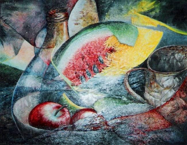 Bodegon ignacio monje pintor colombiano for Pintor y muralista colombiano
