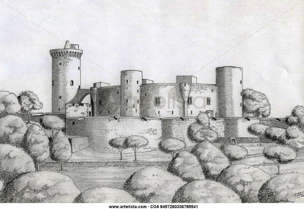 Castillo de Bellver Pedro Adelantado Periz  Artelistacom