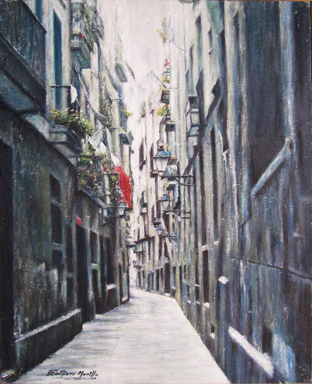 Barcelona casco antiguo emiliano murillo mu oz - Casco antiguo de barcelona ...