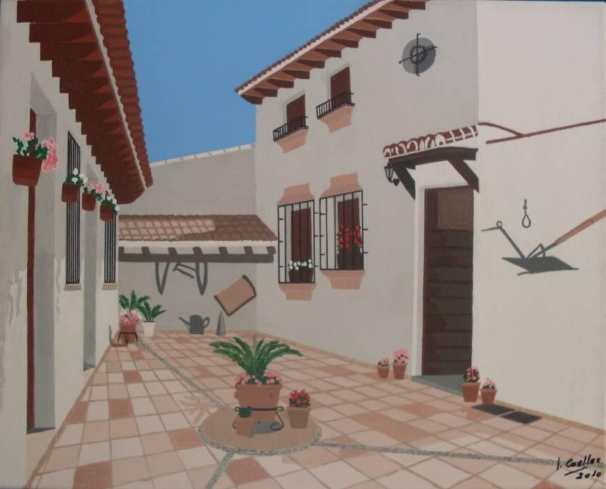 Patio andaluz jordi caelles benet - Un patio andaluz ...