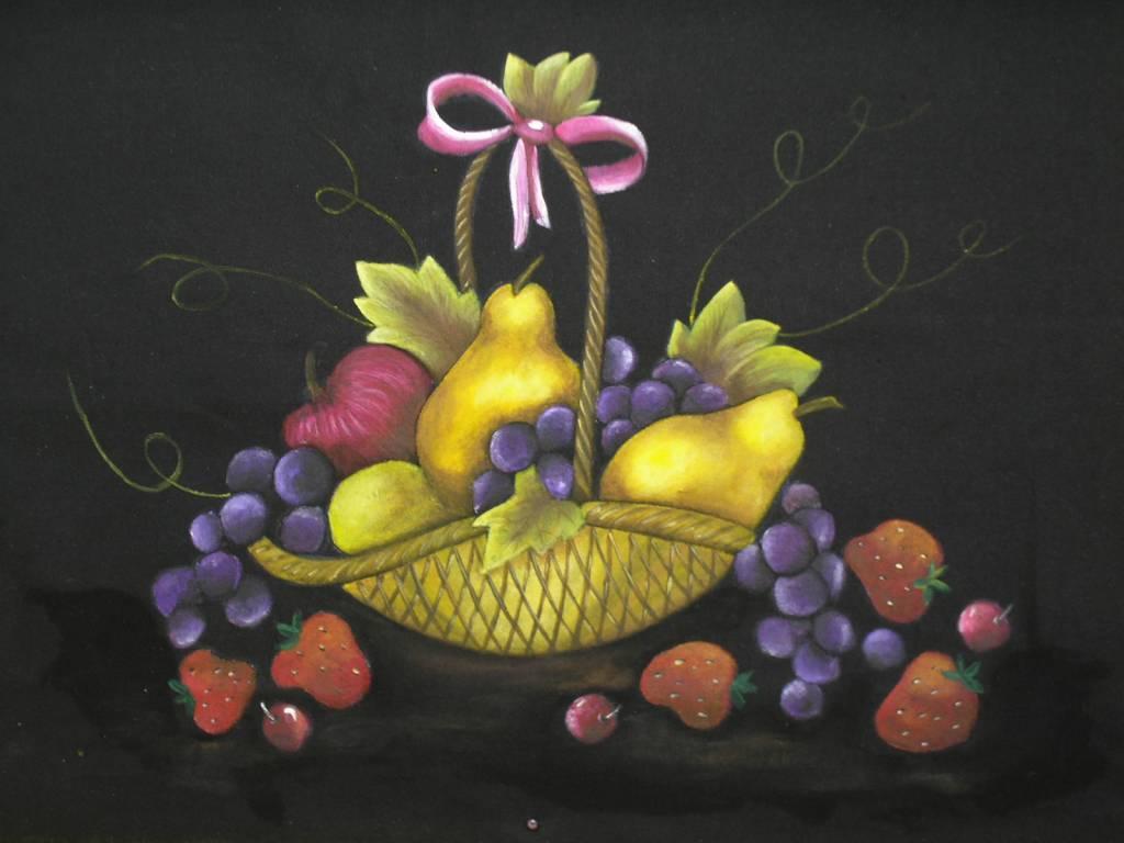 CANASTA DE FRUTAS MARIANELA ALESSANDRONI- Artelista.com