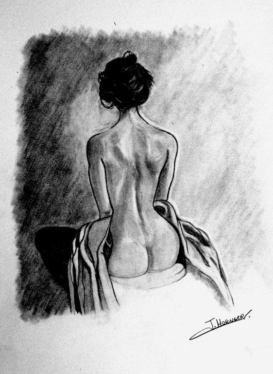 Desnudo Mujer Sentada De Espaldas Inma Horinger Artelistacom