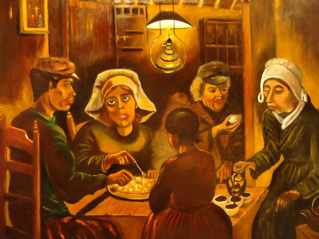 comedores de patatas juan garrido - Artelista.com